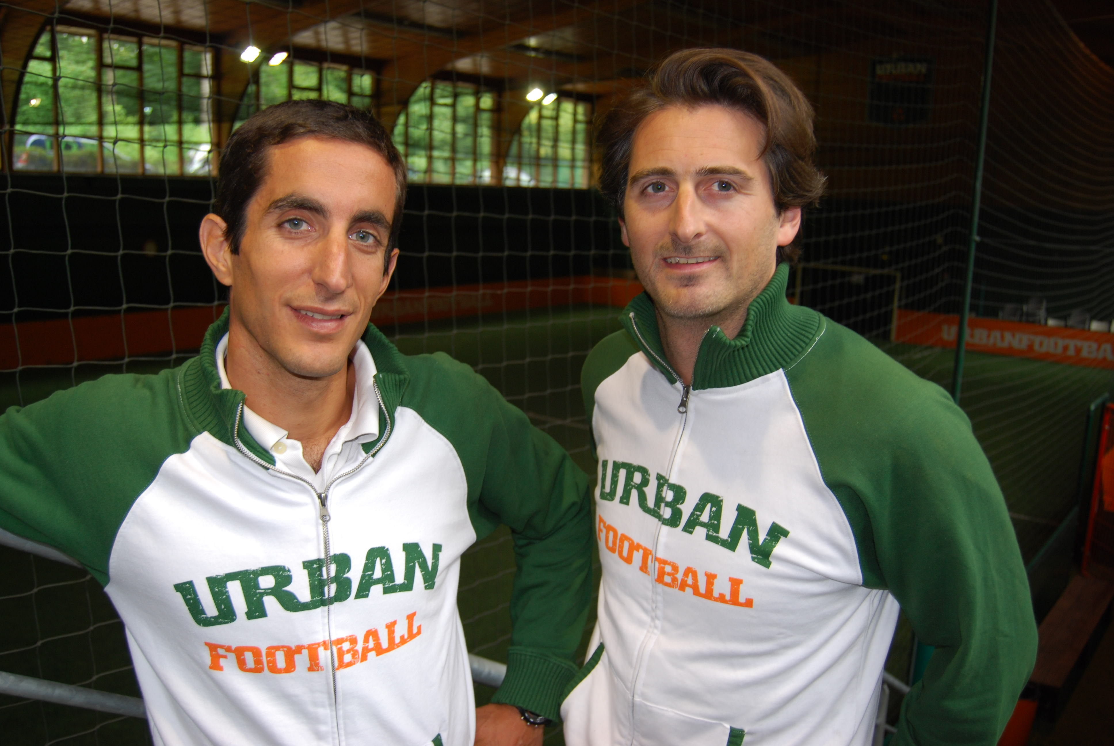 icolas Warter, 36 ans, et Victor Augais, 35 ans, codirigeants d'UrbanFootball