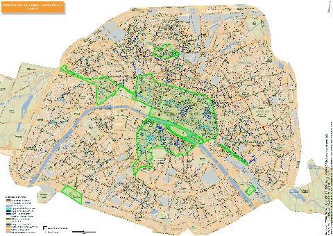 Travail dominical la ccip redessine la carte de paris for Carte paris touristique