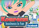 Avec Kompany, jouez au chef d'entreprise sur Facebook