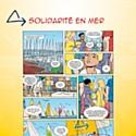 Le calendrier de La Solidarité Mutualiste met en valeur ses partenariats à travers une BD.