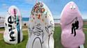 La Menhir Parade2012 est une exposition itinérante organisée par le Club des Entreprises Ouest Côtes-d'Armor.
