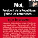Des dirigeants de PME s'offrent une pub pour dénoncer la politique de Hollande