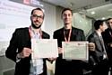 Pierre-Emmanuel Grange (à gauche) et David Fattal, lauréats des MIT Technology Review.