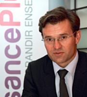 Olivier Duha, nouveau président de CroissancePlus succède à Frédéric Bedin