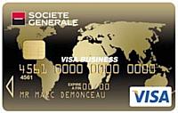 Carte Visa Gold Business class de la Société Générale : pour les dirigeants de TPE qui voyagent