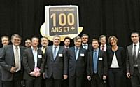 Soirée d'inauguration du club des entreprises centenaires le 29 mars 2012
