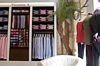 Vicomte A. est distribuée, en France, dans une vingtaine de boutiques en propre, 343 boutiques multimarques et une douzaine de corners en grands magasins