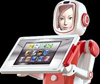 FURo : l'hôtesse d'accueil robotisée arrive en Europe