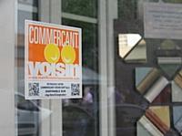 Les commerçants de la rue Esnault Pelterie à Boulogne-Billancourt ont organisé la fête des commerçants voisins.