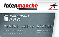 Le groupe Intermarché lance sa carte carburant pro.
