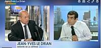Jean-Yves Le Drian, ministre de la Défense, le 5 septembre sur BFM Business.