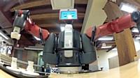 Baxter est le premier robot à pouvoir intégrer une chaîne de production industrielle aux côtés d'ouvriers.