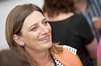 Frédérique Clavel, présidente de l'Agence pour la création d'entreprises.