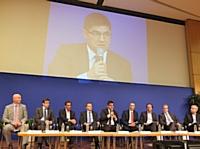Des dirigeants du commerce associé réunis à Bercy