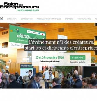 Salon des entrepreneurs nantes grand ouest for Salon des entrepreneurs nantes