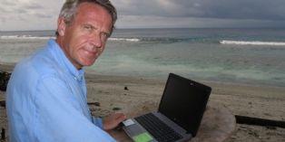 Carnet de bord de Gauthier Toulemonde, ce patron qui pilote son entreprise d'une île déserte