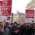 Manifestation nationale de la Capeb en janvier dernier