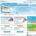 La page d'accueil d'EasyFichiers.com.