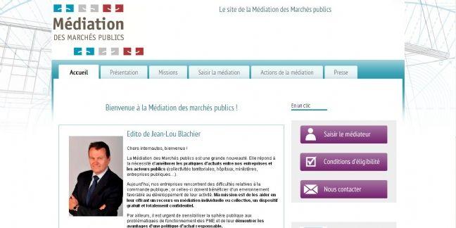 Un site pour tout savoir sur la médiation des marchés publics