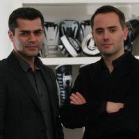 Franck Dupuis et Jean-François Bandet, gérants de Dragon Bleu