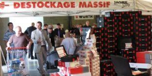 Würth organise les ventes privées de l'outillage