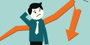 Les défaillances d'entreprise ont baissé sur les douze derniers mois