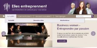 Un nouveau site spécialement dédié aux femmes créatrices d'entreprise