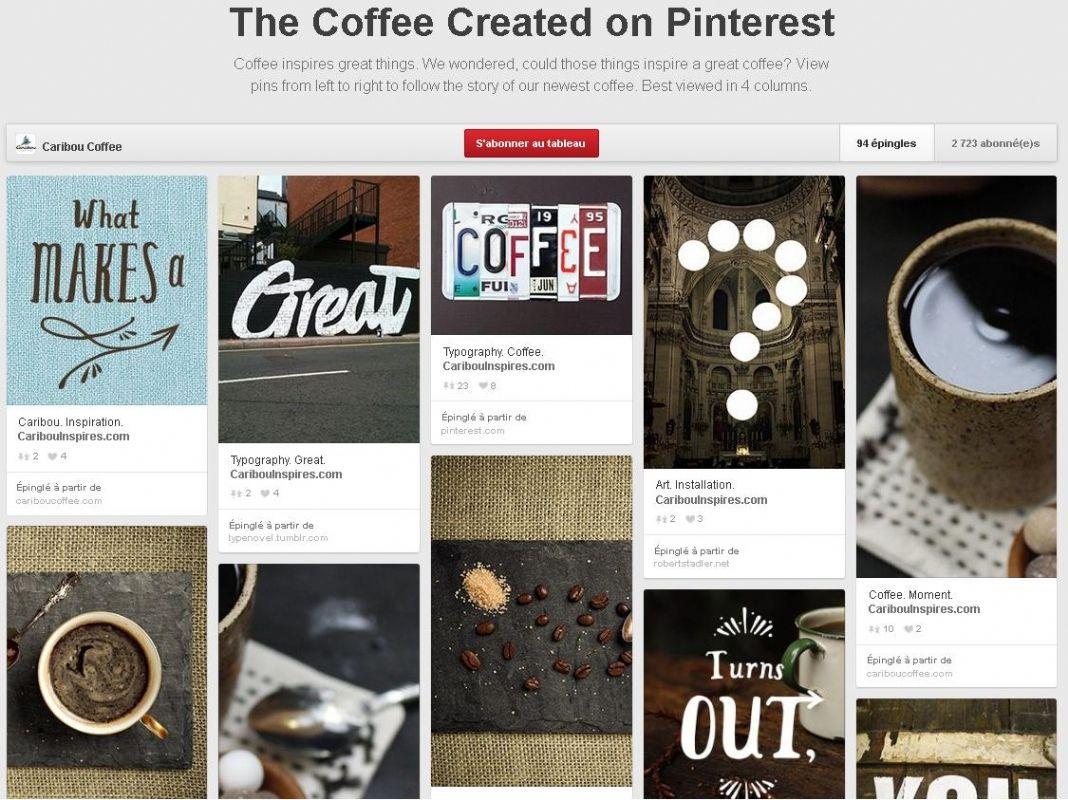 id e d 39 ailleurs une enseigne am ricaine cr e un caf inspir par pinterest. Black Bedroom Furniture Sets. Home Design Ideas