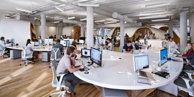 [Idée d'ailleurs] Une PME américaine crée un bureau géant de 400 mètres de long