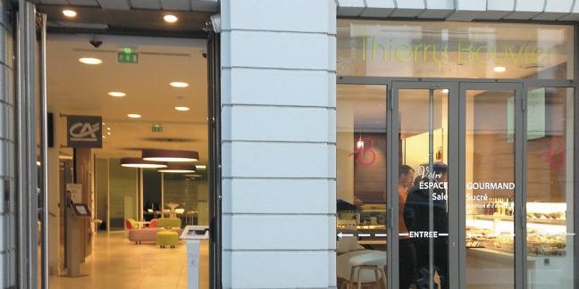 Une boulangerie dans... une agence bancaire