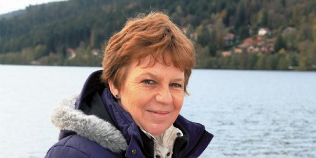 Marielle Breyer-Gérardin, la créatrice de la boutique Gémag de Gérardmer.
