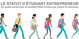 Le statut 'étudiant-entrepreneur' lancé à la rentrée