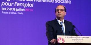 Conférence sociale : François Hollande met le paquet sur l'apprentissage