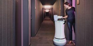 [Idée d'ailleurs] Dans cet hôtel californien, le majordome est un robot