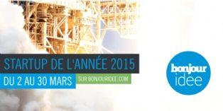 Concours : devenez la start-up de l'année 2015