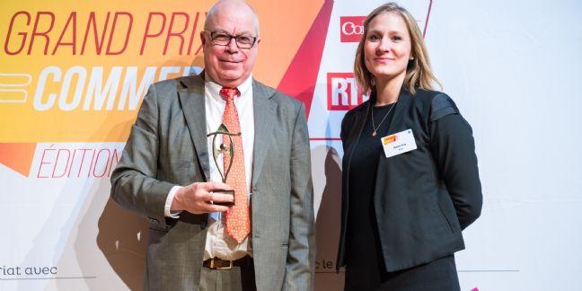 Grand Prix du Commerce : Bernard Kervarec élu Commerçant stratège 2015