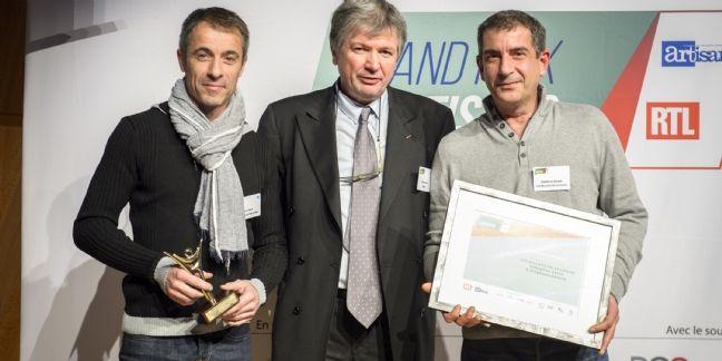 Stéphane Gérard et Sébastien Carré sont les Artisans Communicants 2015