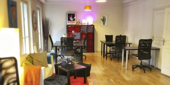 un nouvel espace de coworking paris. Black Bedroom Furniture Sets. Home Design Ideas