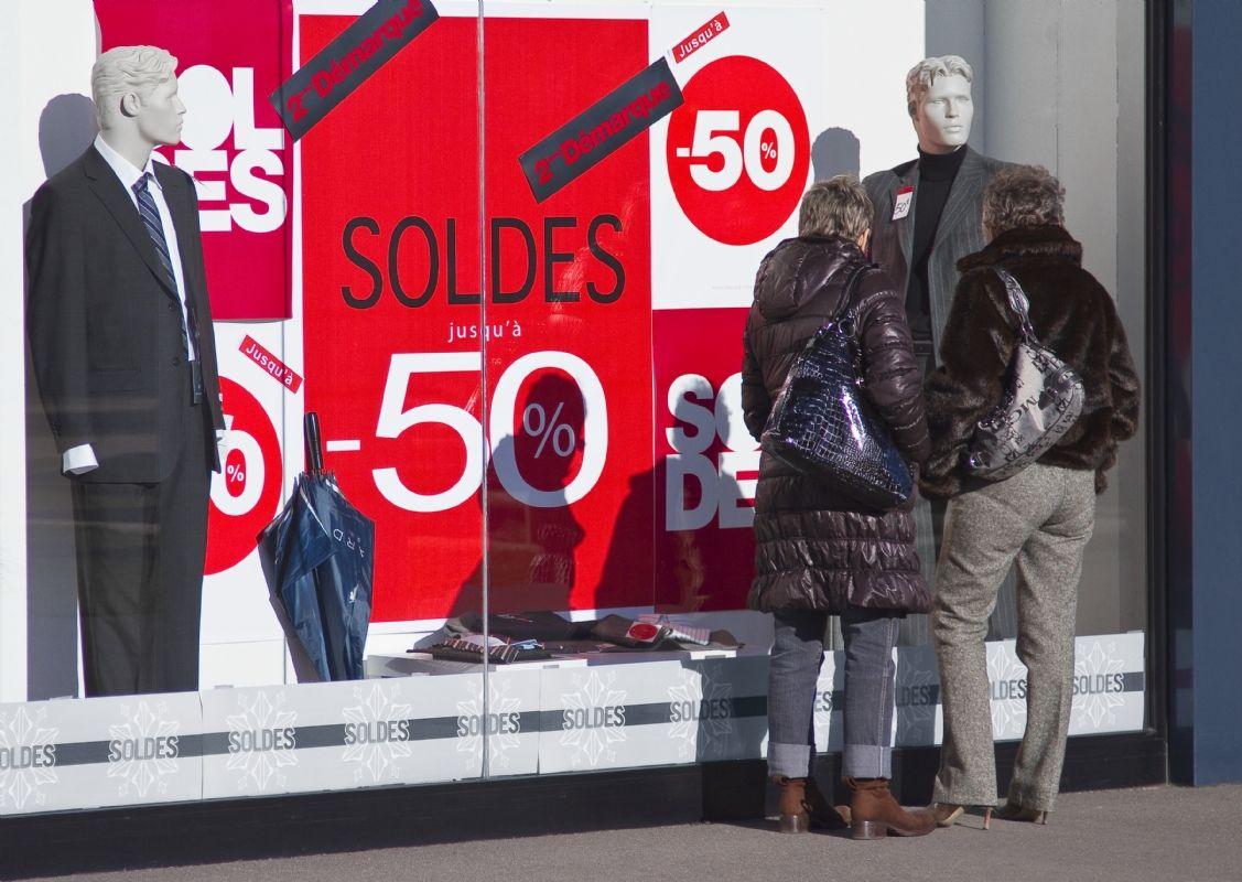 Croissance quasi nulle pour les soldes d 39 hiver 2015 - Les soldes hiver 2015 ...