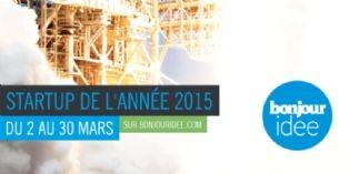 Concours de la Start-up de l'année 2015 : le vote est ouvert