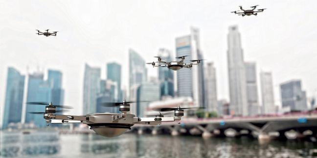 Les drones décollent dans l'entreprise