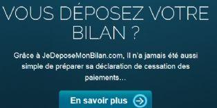 Le site jedeposemonbilan.com permet de déposer son bilan en ligne