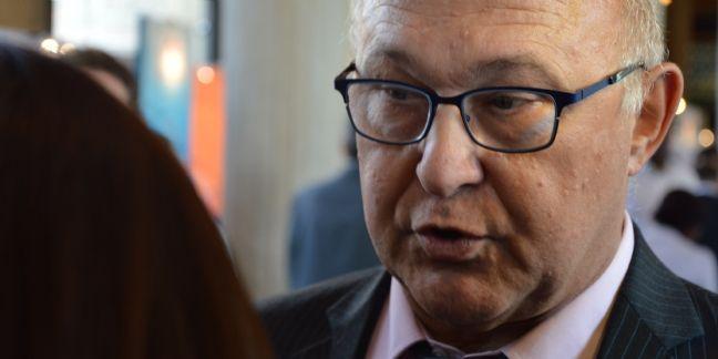 Michel Sapin, ministre des Finances, sur le salon Planète PME