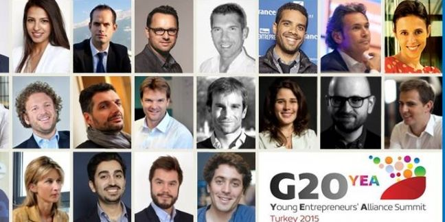 La culture entrepreneuriale, star du G20 YEA