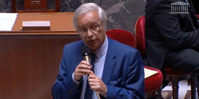 François Rebsamen à l'Assemblée Nationale le 23 juillet 2015
