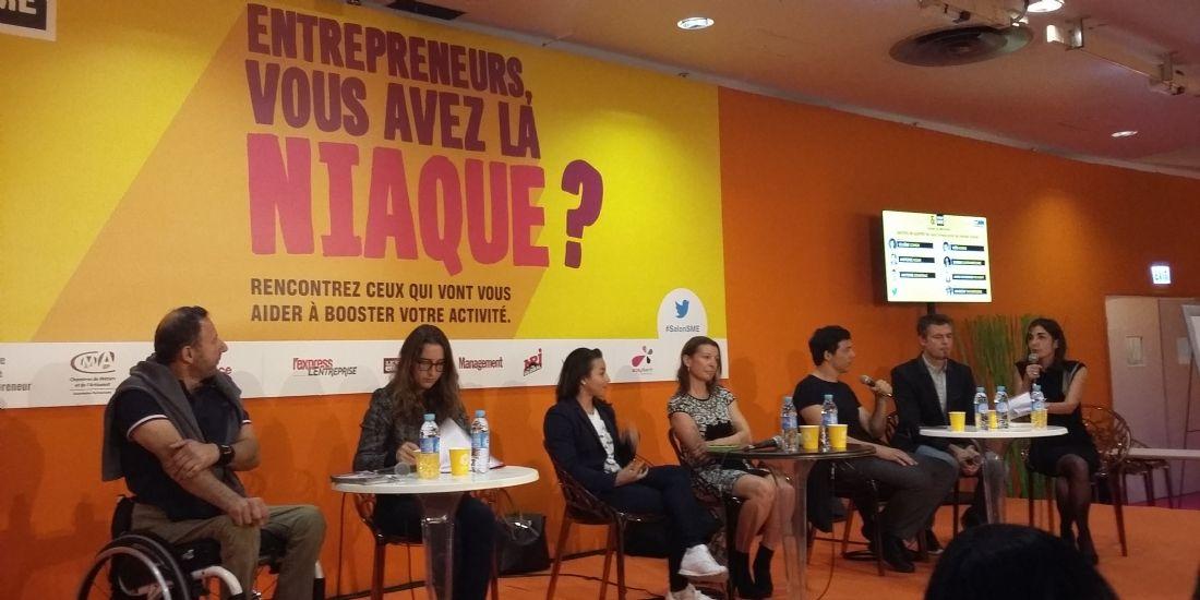 Salon SME : quand des sportifs parlent aux entrepreneurs