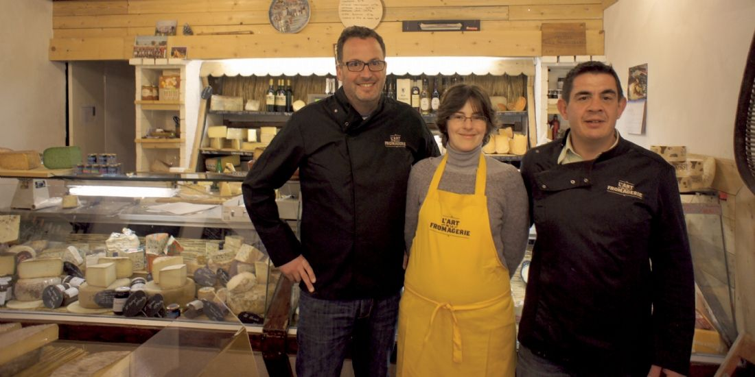 Le relooking gagnant de l'Art de la fromagerie à Marseille