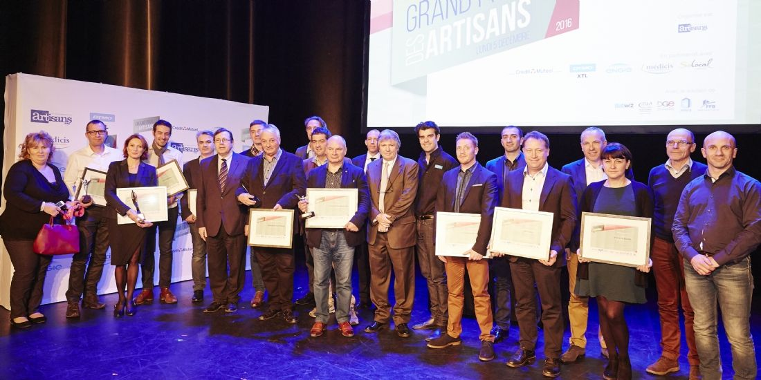 Grand Prix des Artisans : qui sont les lauréats 2016?