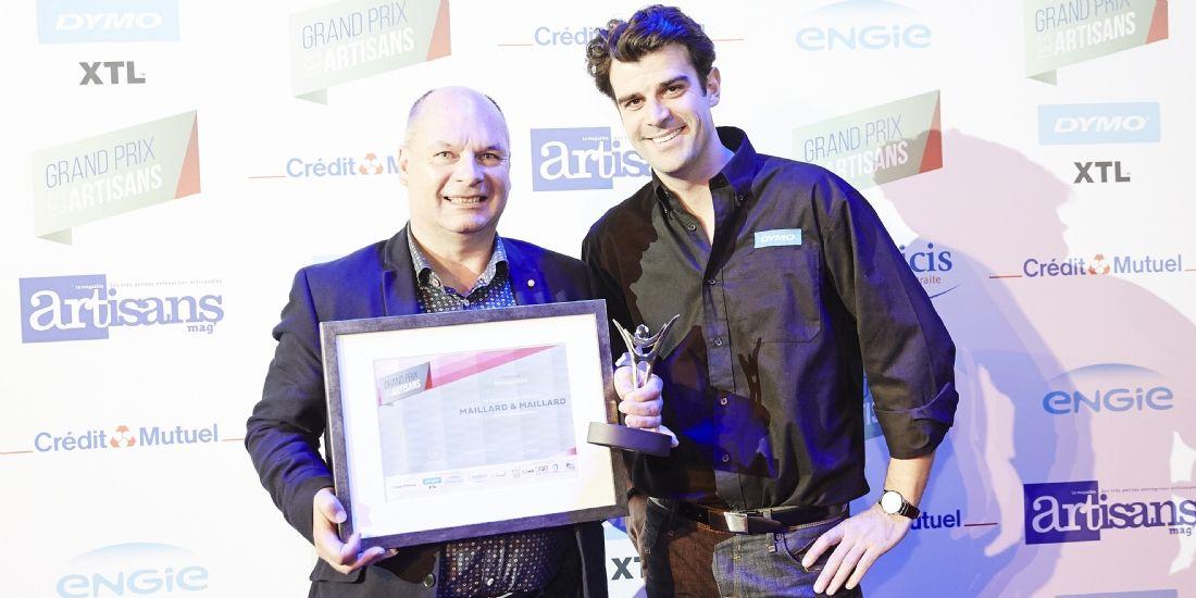 Grand Prix des Artisans : Eric et Loïc Maillard sont les artisans innovants 2016