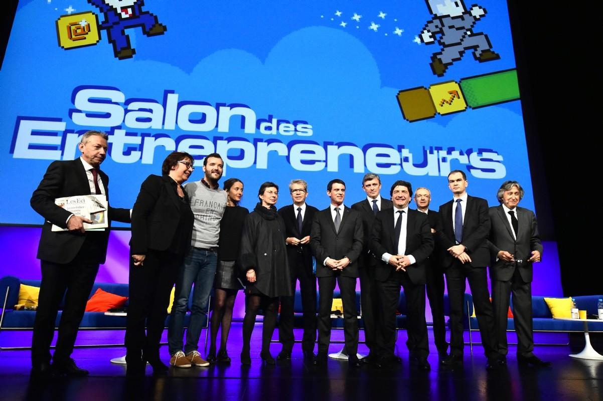 Salon des entrepreneurs le meilleur de la 1re journ e for Salon des entrepreneurs paris 2016